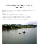 Bài tập SGK môn địa lý lớp 8 (12)