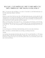 Bài tập SGK môn sinh học lớp 12 (37)