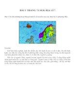 Bài tâp SGK môn địa lý lớp 7 (34)