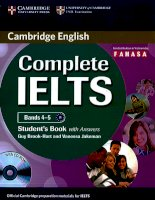 Complete IELTS bands 4 5 student book a