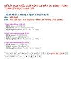 Tài liệu ôn thi tiếng anh lớp 12 tham khảo (15)