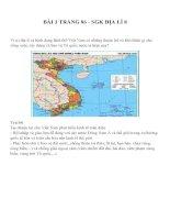 Bài tập SGK môn địa lý lớp 8 (95)