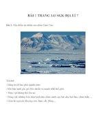 Bài tâp SGK môn địa lý lớp 7 (24)