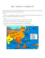 Bài tập SGK môn địa lý lớp 8 (70)