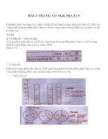 Bài tập SGK môn địa lý lớp 9 (35)