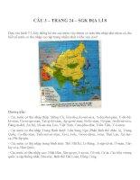 Bài tập SGK môn địa lý lớp 8 (100)