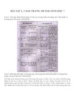 bài tập SGK sinh học lớp 7 (10)