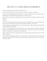 Bài tập SGK môn sinh học lớp 8 (48)