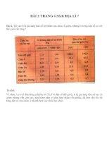 Bài tâp SGK môn địa lý lớp 7 (29)