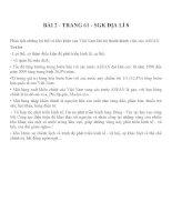 Bài tập SGK môn địa lý lớp 8 (2)