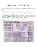 bài tập SGK sinh học lớp 7 (20)