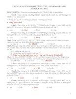 Tuyển tập 127 câu hỏi thi công chức và thi giáo viên giỏi