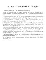 Lý thuyết và bài tập môn sinh học lớp 9 (1)