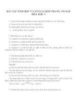 Bài tập môn hóa học lớp 9 (14)
