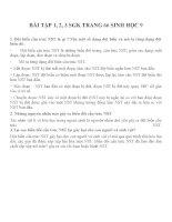 Lý thuyết và bài tập môn sinh học lớp 9 (3)