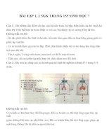 bài tập SGK sinh học lớp 7 (30)