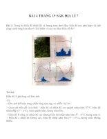 Bài tâp SGK môn địa lý lớp 7 (28)