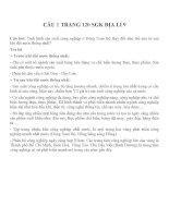 Bài tập SGK môn địa lý lớp 9 (11)