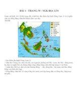 Bài tập SGK môn địa lý lớp 8 (77)