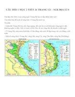 Bài tập SGK môn địa lý lớp 8 (6)