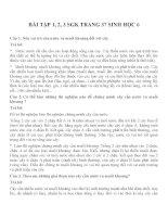 Bài tập SGK môn sinh học lớp 6 (30)