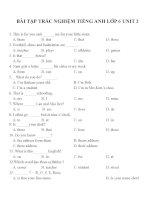 Bài tập môn tiếng anh lớp 6 (111)