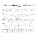 Bài tập SGK môn sinh học lớp 12 (38)