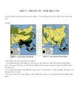 Bài tập SGK môn địa lý lớp 8 (37)
