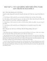 Bài tập SGK môn sinh học lớp 12 (24)