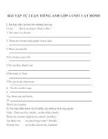 Bài tập môn tiếng anh lớp 6 (26)