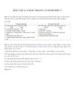Lý thuyết và bài tập môn sinh học lớp 9 (46)