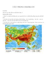 Bài tập SGK môn địa lý lớp 8 (94)
