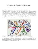 bài tập SGK sinh học lớp 7 (40)