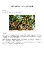BÀI TRANG 131 - SGK ĐỊA LÍ