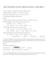 Bài tập hóa học lớp 9 (23)