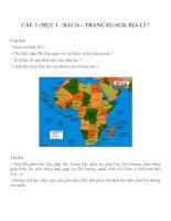 Bài tâp SGK môn địa lý lớp 7 (64)
