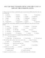 Bài tập môn tiếng anh lớp 9 (2)