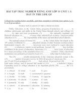 Bài tập môn tiếng anh lớp 10 (51)