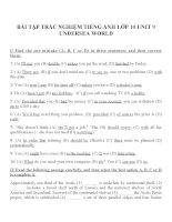 Bài tập môn tiếng anh lớp 10 (20)