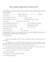 Bài tập môn tiếng anh lớp 8 (23)