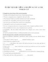 Bài tập môn tiếng anh lớp 10 (130)