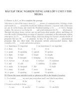 Bài tập môn tiếng anh lớp 9 (56)