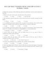 Bài tập môn tiếng anh lớp 10 (57)