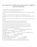 Bài tập môn tiếng anh lớp 9 (106)