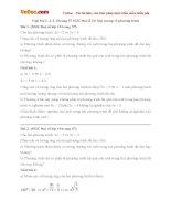 Giải bài tập trang 57 SGK Đại số 10: Đại cương về phương trình