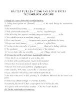 Bài tập môn tiếng anh lớp 10 (133)
