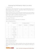Giải bài tập trang 9 SGK Sinh lớp 6: Nhiệm vụ của sinh học