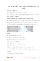 Giải bài tập trang 51 SGK Toán 4: Hai đường thẳng song song