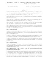 Thông tư 15/2016/TT-BKHĐT về lập hồ sơ mời sơ tuyển, hồ sơ mời thầu lựa chọn nhà đầu tư