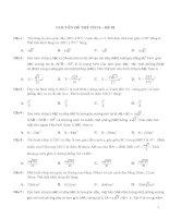 350 câu hỏi trắc nghiệm chuyên đề hình học không gian